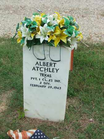 ATCHLEY (VETERAN WWI), ALBERT - Lawrence County, Arkansas | ALBERT ATCHLEY (VETERAN WWI) - Arkansas Gravestone Photos