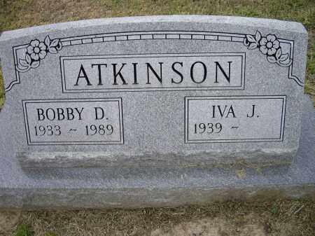 ATKINSON, BOBBY D. - Lawrence County, Arkansas | BOBBY D. ATKINSON - Arkansas Gravestone Photos