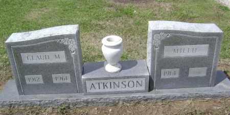 ATKINSON, CLAUD M. - Lawrence County, Arkansas | CLAUD M. ATKINSON - Arkansas Gravestone Photos