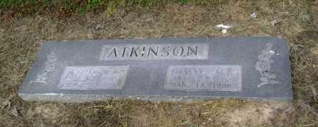 ATKINSON, COY W. - Lawrence County, Arkansas   COY W. ATKINSON - Arkansas Gravestone Photos