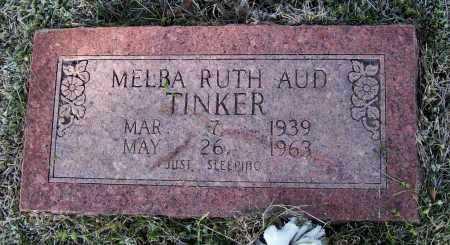 TINKER AUD, MELBA RUTH - Lawrence County, Arkansas | MELBA RUTH TINKER AUD - Arkansas Gravestone Photos