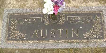 AUSTIN, KENNETH CALVIN - Lawrence County, Arkansas | KENNETH CALVIN AUSTIN - Arkansas Gravestone Photos