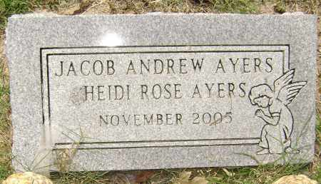 AYERS, HEIDI ROSE - Lawrence County, Arkansas | HEIDI ROSE AYERS - Arkansas Gravestone Photos