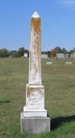 BABER, MILTON DYER - Lawrence County, Arkansas | MILTON DYER BABER - Arkansas Gravestone Photos