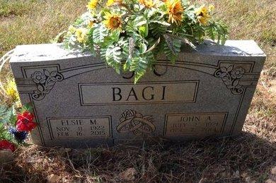 BAGI, ELSIE MAY - Lawrence County, Arkansas | ELSIE MAY BAGI - Arkansas Gravestone Photos