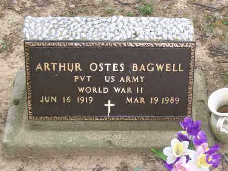 BAGWELL (VETERAN WWII), ARTHUR OSTES - Lawrence County, Arkansas | ARTHUR OSTES BAGWELL (VETERAN WWII) - Arkansas Gravestone Photos