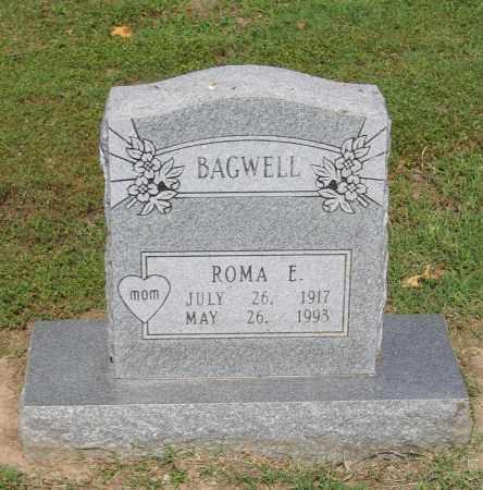 MCQUAY BAGWELL, ROMA E. - Lawrence County, Arkansas | ROMA E. MCQUAY BAGWELL - Arkansas Gravestone Photos