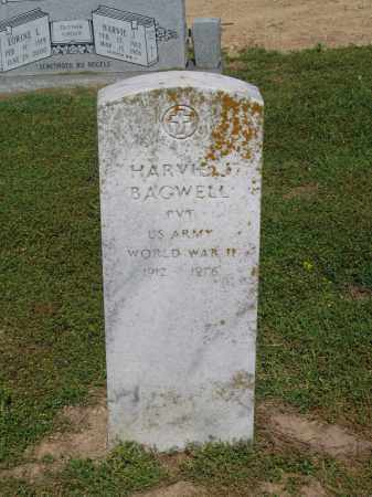 BAGWELL (VETERAN WWII), HARVIE J - Lawrence County, Arkansas | HARVIE J BAGWELL (VETERAN WWII) - Arkansas Gravestone Photos