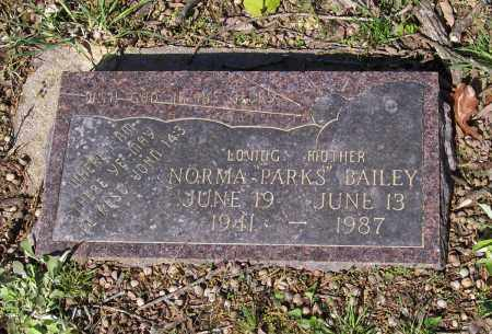 BAILEY, NORMA PARKS - Lawrence County, Arkansas   NORMA PARKS BAILEY - Arkansas Gravestone Photos