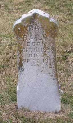 BAILY, SARAH A. - Lawrence County, Arkansas | SARAH A. BAILY - Arkansas Gravestone Photos