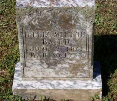 BAIRD, FELIX MILTON - Lawrence County, Arkansas | FELIX MILTON BAIRD - Arkansas Gravestone Photos