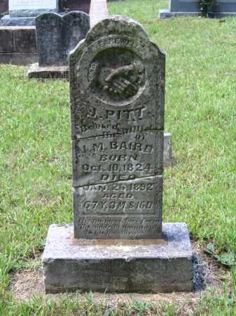 BAIRD (VETERAN UNION), JEREMIAH PITT - Lawrence County, Arkansas | JEREMIAH PITT BAIRD (VETERAN UNION) - Arkansas Gravestone Photos