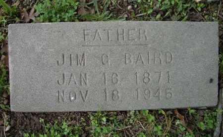 BAIRD, JIM G. - Lawrence County, Arkansas   JIM G. BAIRD - Arkansas Gravestone Photos