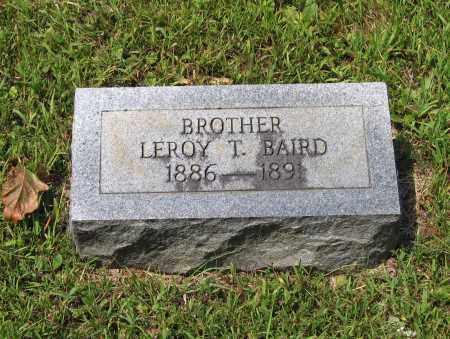BAIRD, LEROY T. - Lawrence County, Arkansas | LEROY T. BAIRD - Arkansas Gravestone Photos