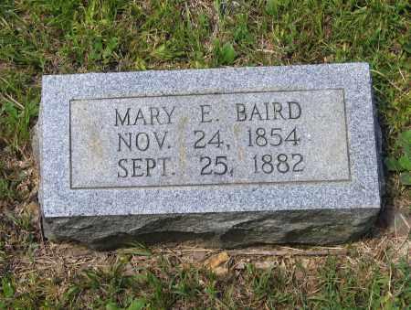 RAGSDALE BAIRD, MARY E. - Lawrence County, Arkansas | MARY E. RAGSDALE BAIRD - Arkansas Gravestone Photos