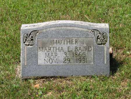 BAIRD, MARTHA E. - Lawrence County, Arkansas | MARTHA E. BAIRD - Arkansas Gravestone Photos