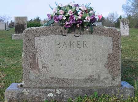 BAKER, ASA - Lawrence County, Arkansas | ASA BAKER - Arkansas Gravestone Photos