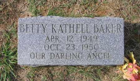 BAKER, BETTY KATHELL - Lawrence County, Arkansas | BETTY KATHELL BAKER - Arkansas Gravestone Photos