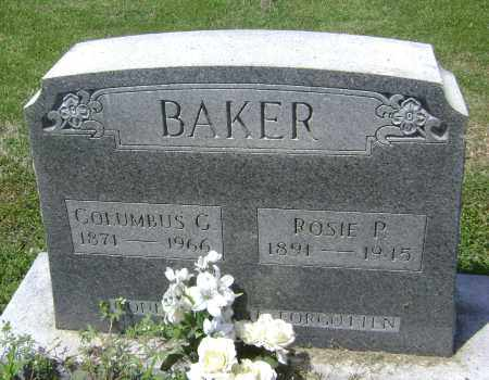 """YOUNG BAKER, ROSE P.  """"ROSIE"""" - Lawrence County, Arkansas 