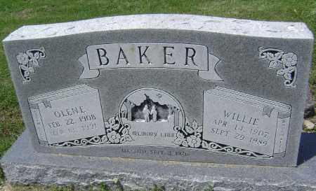 JONES BAKER, WILMA OLENE - Lawrence County, Arkansas | WILMA OLENE JONES BAKER - Arkansas Gravestone Photos