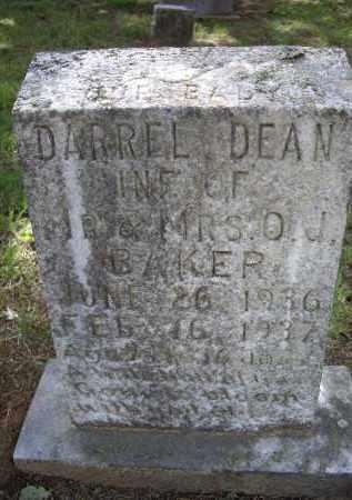 BAKER, DARRELL DEAN - Lawrence County, Arkansas | DARRELL DEAN BAKER - Arkansas Gravestone Photos