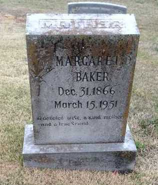 """BAKER, MARGARET """"MAGGIE"""" DEE - Lawrence County, Arkansas 