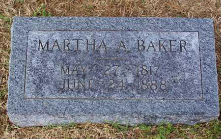 BAKER, MARTHA A. - Lawrence County, Arkansas | MARTHA A. BAKER - Arkansas Gravestone Photos