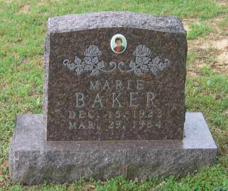 INGRAM BAKER, OLA MARIE - Lawrence County, Arkansas | OLA MARIE INGRAM BAKER - Arkansas Gravestone Photos