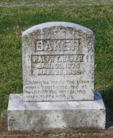 BAKER, RALPH E. - Lawrence County, Arkansas | RALPH E. BAKER - Arkansas Gravestone Photos
