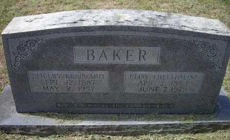 HILLHOUSE BAKER, FLOY B. LOUISE - Lawrence County, Arkansas | FLOY B. LOUISE HILLHOUSE BAKER - Arkansas Gravestone Photos