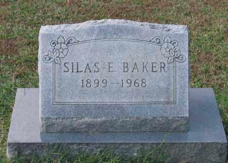 BAKER, SILAS E. - Lawrence County, Arkansas | SILAS E. BAKER - Arkansas Gravestone Photos