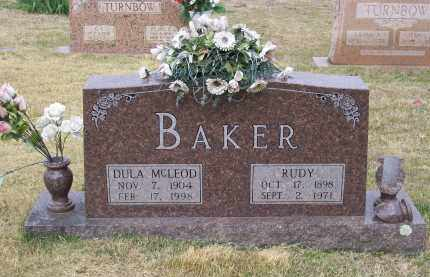 MCLEOD BAKER, DULA DURAN - Lawrence County, Arkansas | DULA DURAN MCLEOD BAKER - Arkansas Gravestone Photos