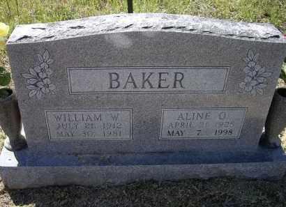 BAKER, WILLIAM W. - Lawrence County, Arkansas | WILLIAM W. BAKER - Arkansas Gravestone Photos