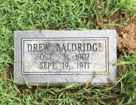 BALDRIDGE, DREW - Lawrence County, Arkansas | DREW BALDRIDGE - Arkansas Gravestone Photos