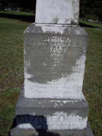 BALFOUR V, MD (VETERAN CSA), ANDREW - Lawrence County, Arkansas | ANDREW BALFOUR V, MD (VETERAN CSA) - Arkansas Gravestone Photos