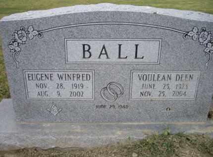 DEEN BALL, VOULEAN - Lawrence County, Arkansas | VOULEAN DEEN BALL - Arkansas Gravestone Photos