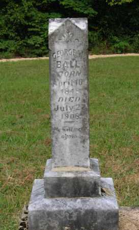 BALL, M.D., GEORGE WASHINGTON - Lawrence County, Arkansas | GEORGE WASHINGTON BALL, M.D. - Arkansas Gravestone Photos