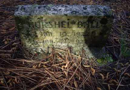 BALL, HURSHEL - Lawrence County, Arkansas | HURSHEL BALL - Arkansas Gravestone Photos