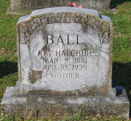 HATCHER BALL, IDA L. - Lawrence County, Arkansas | IDA L. HATCHER BALL - Arkansas Gravestone Photos