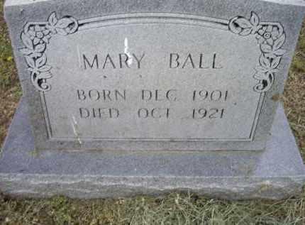 BALL, MARY - Lawrence County, Arkansas | MARY BALL - Arkansas Gravestone Photos