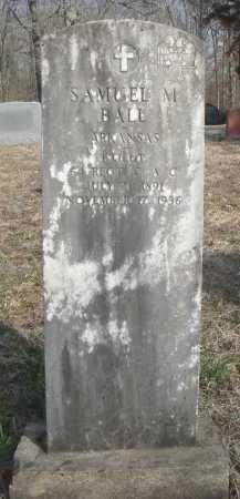 BALL (VETERAN WWI), SAMUEL MILLARD - Lawrence County, Arkansas   SAMUEL MILLARD BALL (VETERAN WWI) - Arkansas Gravestone Photos