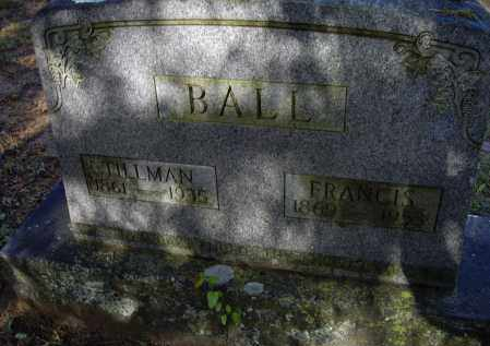 BALL, TILLMAN HENRY D. - Lawrence County, Arkansas | TILLMAN HENRY D. BALL - Arkansas Gravestone Photos