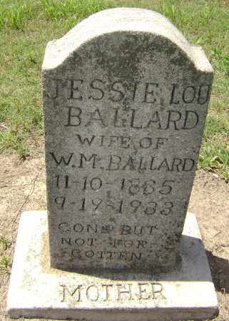 BALLARD, JESSIE LOU - Lawrence County, Arkansas   JESSIE LOU BALLARD - Arkansas Gravestone Photos