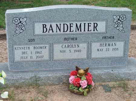 "BANDEMIER, KENNETH ""BOOMER"" - Lawrence County, Arkansas 