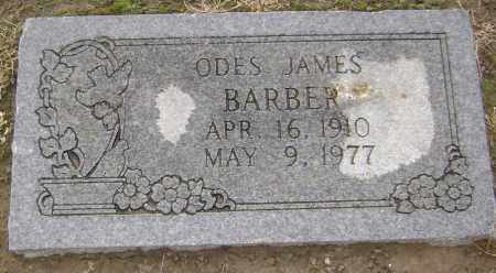 BARBER, ODES JAMES - Lawrence County, Arkansas | ODES JAMES BARBER - Arkansas Gravestone Photos