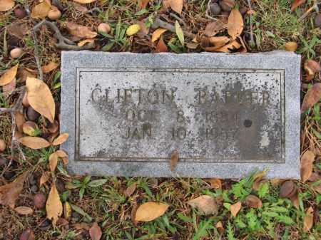 BARKER, CLIFTON - Lawrence County, Arkansas | CLIFTON BARKER - Arkansas Gravestone Photos