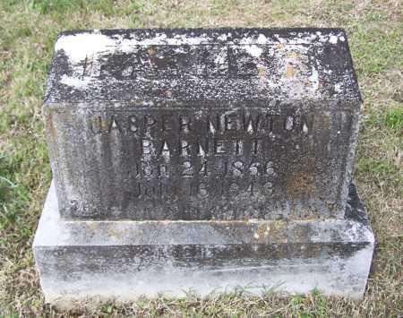BARNETT, JASPER NEWTON - Lawrence County, Arkansas   JASPER NEWTON BARNETT - Arkansas Gravestone Photos