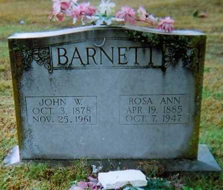 BARNETT, JOHN WILLIAM - Lawrence County, Arkansas | JOHN WILLIAM BARNETT - Arkansas Gravestone Photos