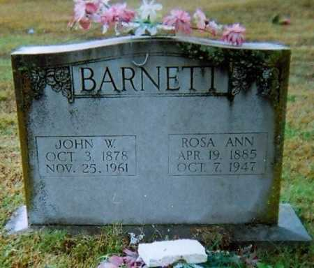 BARNETT, JOHN WILLIAM - Lawrence County, Arkansas | JOHN WILLIAM BARNETT - Arkansas Gravestone Photos