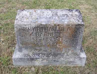 BARNETT, MARTHA LULA - Lawrence County, Arkansas | MARTHA LULA BARNETT - Arkansas Gravestone Photos